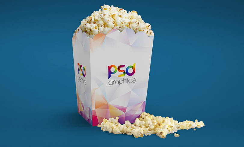 darmowy popcorn mockup
