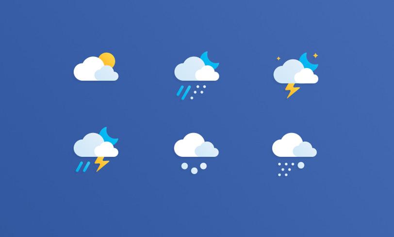 darmowe ikony pogoda