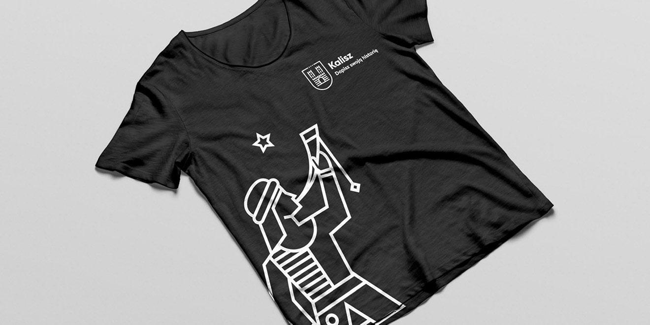 kalisz koszulka ztrębaczem