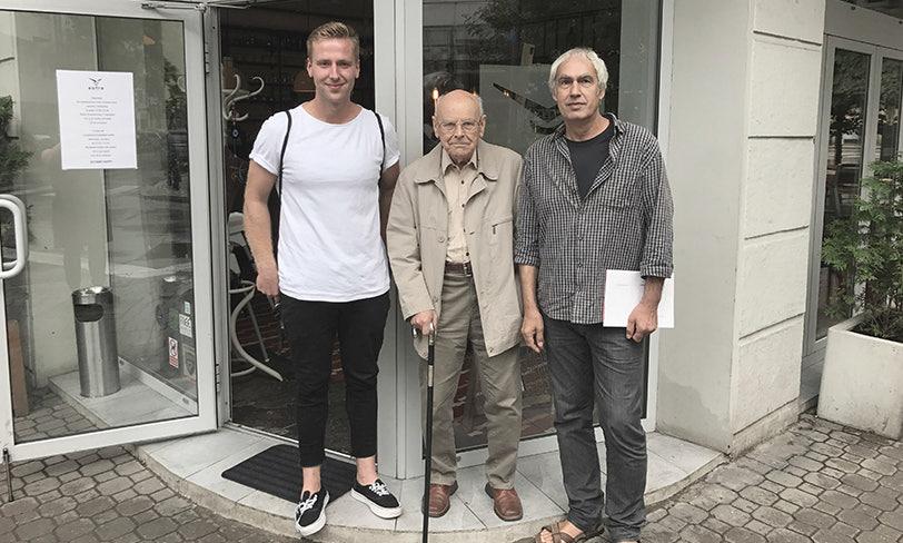 spotkanie Heidrich, Michalski, Bielski