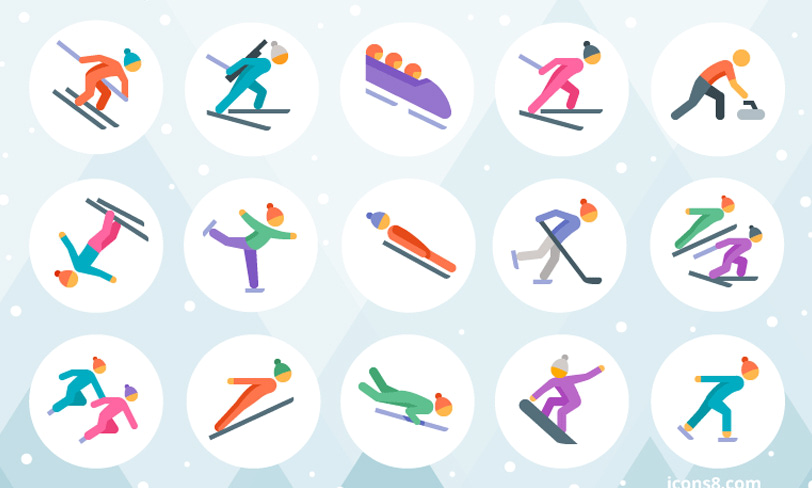 darmowe ikony igrzyska pjongczang