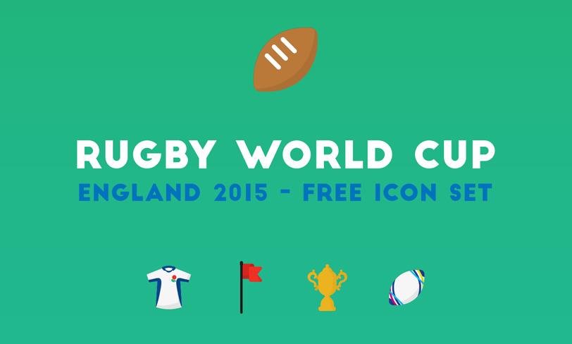 darmowy zestaw ikon rugby