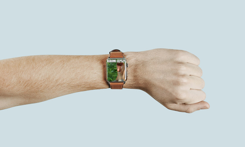 mockup apple watch