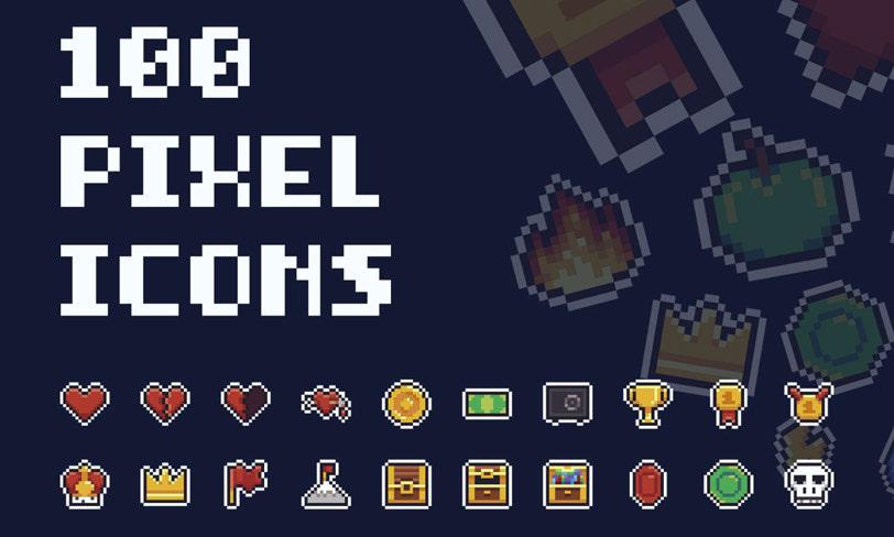 darmowe ikony piksele