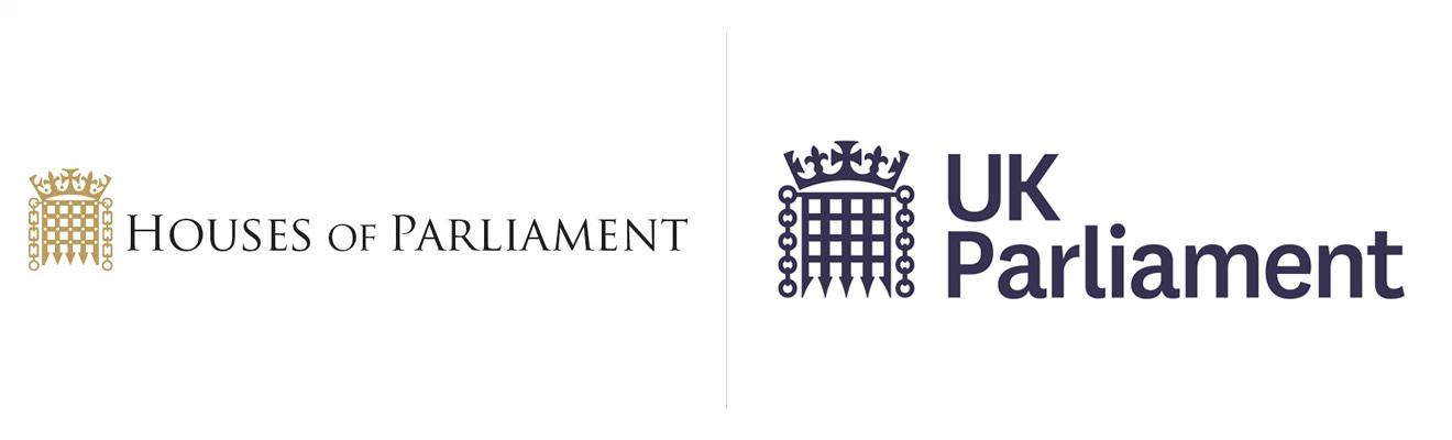 nowe logo brytyjskiego parlamentu