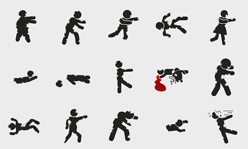 darmowe ikony zombie