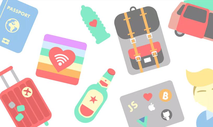darmowe ikony dla podróżników