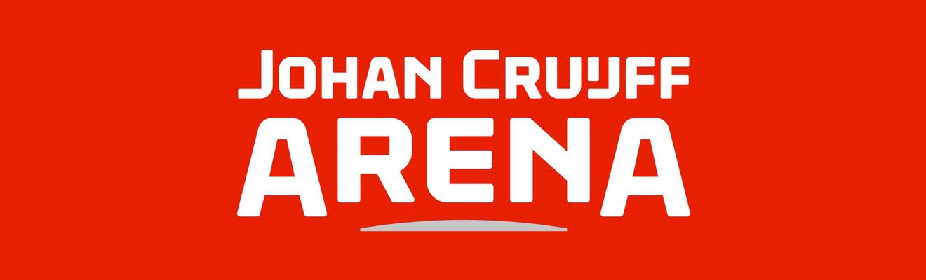 Johan Cruijff Arena - amsterdam arena nowe logo
