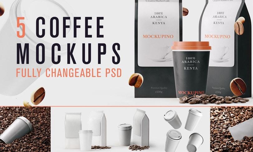 darmowy mockup kawa