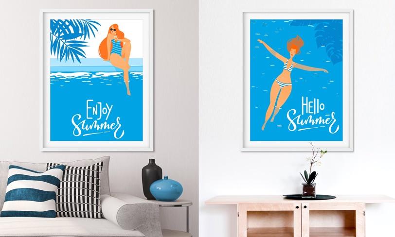 darmowe plakaty lato