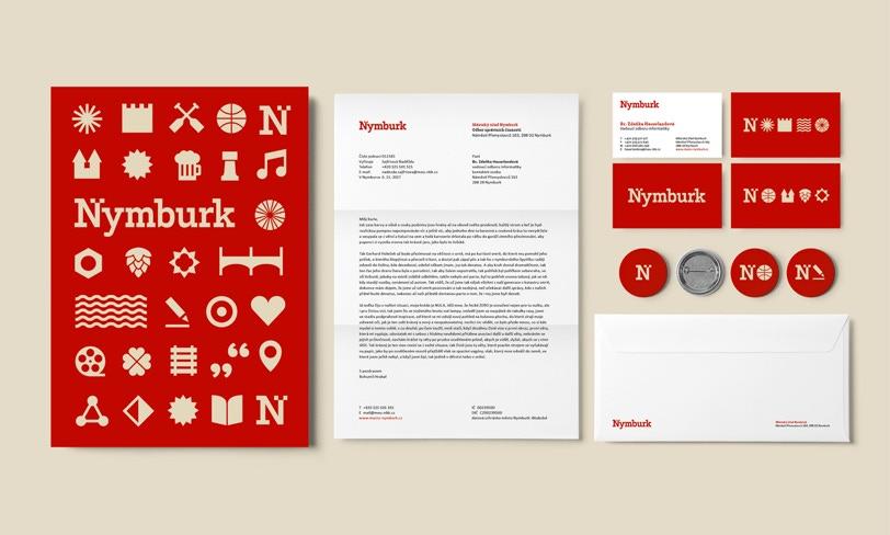 nymburk – identyfikacja wizualna