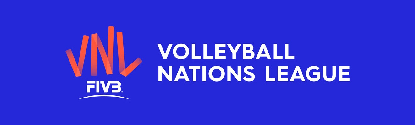 volleyball nations league logo