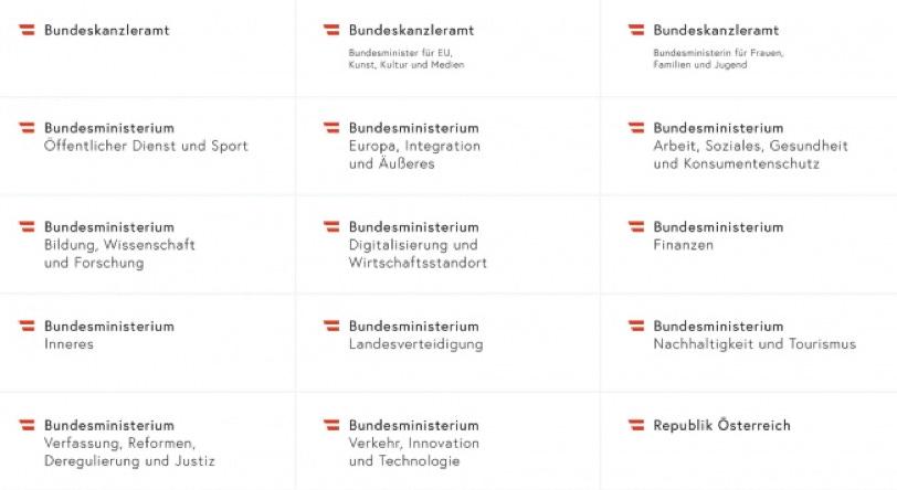 austria logo ministerstw