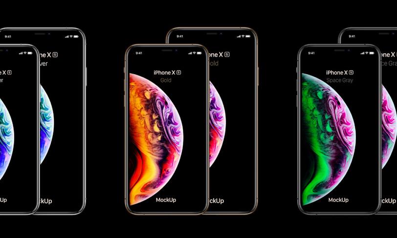 darmowy mockup iphone xs