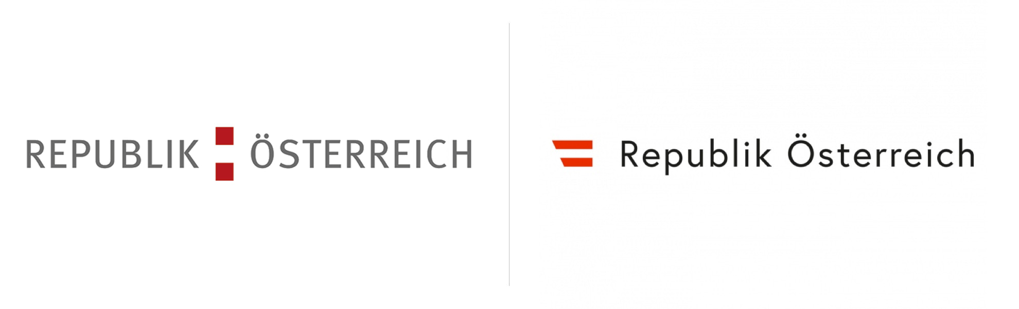 republika austrii nowe istare logo