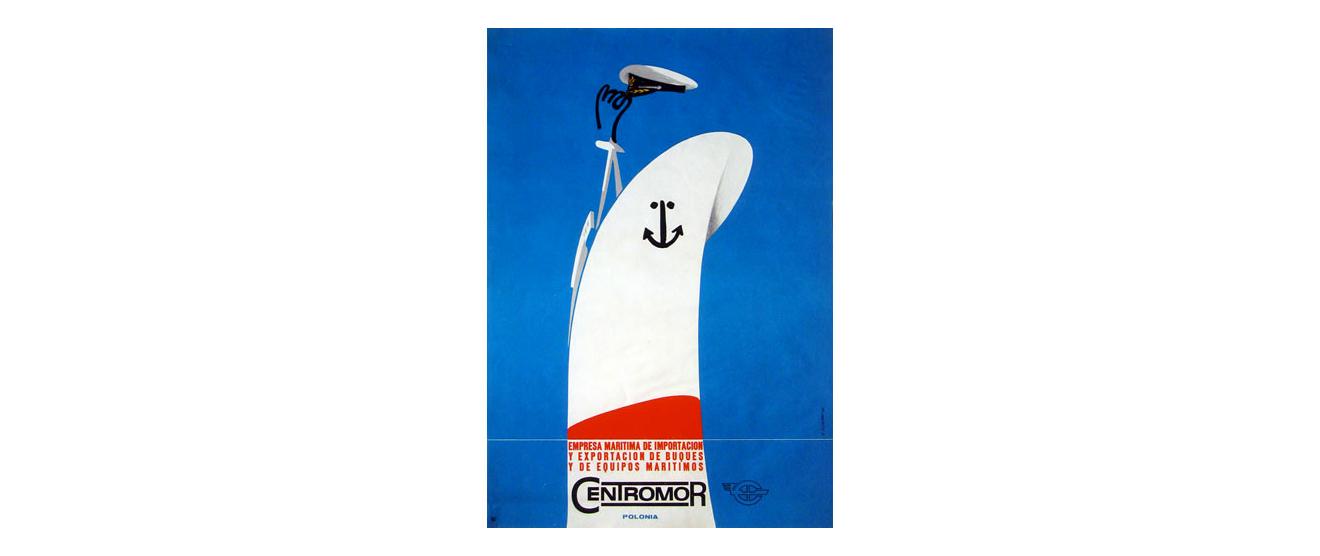 karol śliwka - plakat centromor