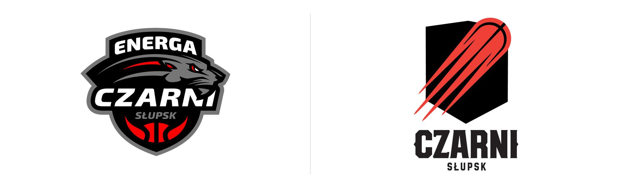 nowe logo czarnych słupsk