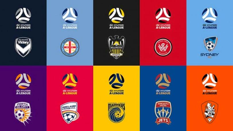 logo australijskich drużyn