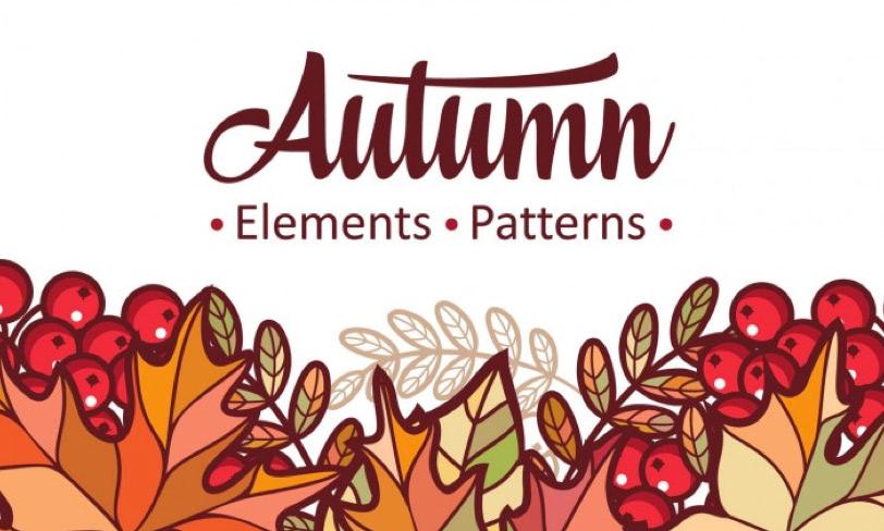 darmowe patterny jesień
