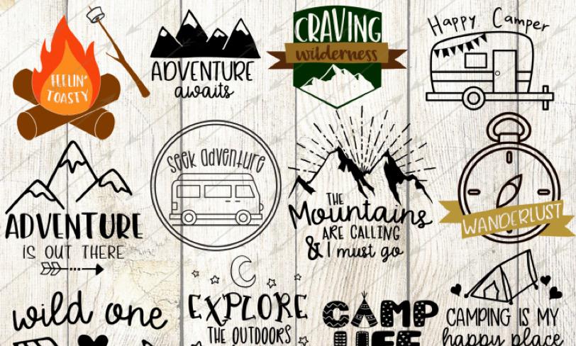camper vectors