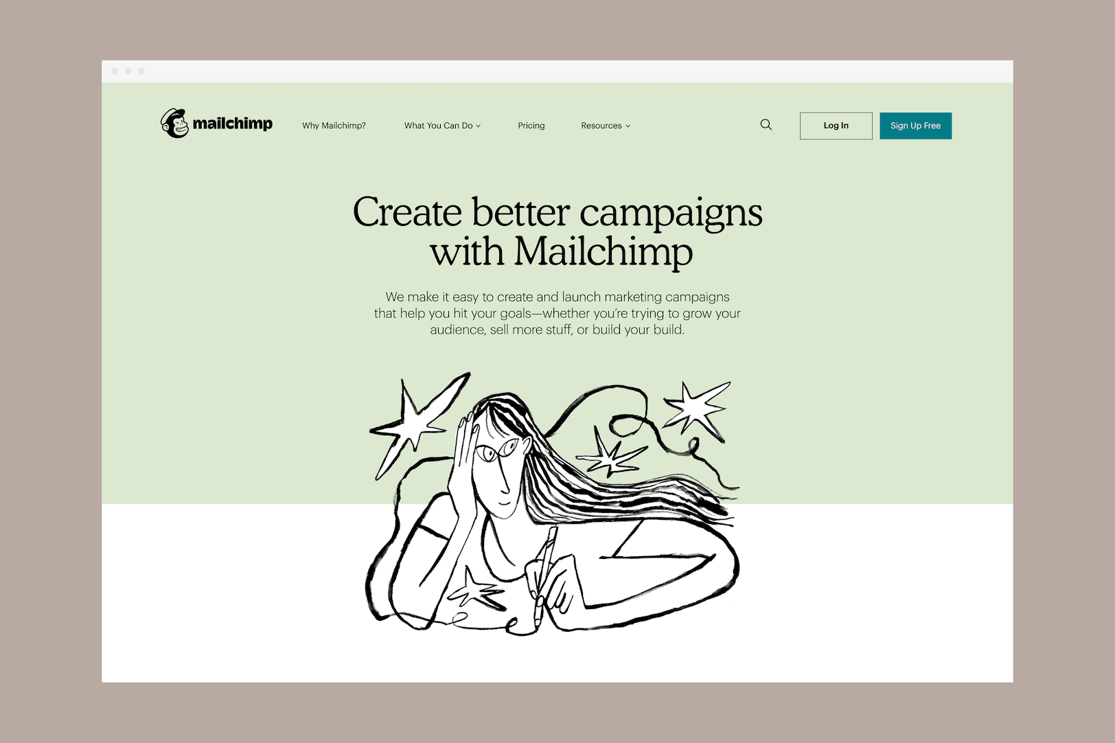 mailchimp ilustracje