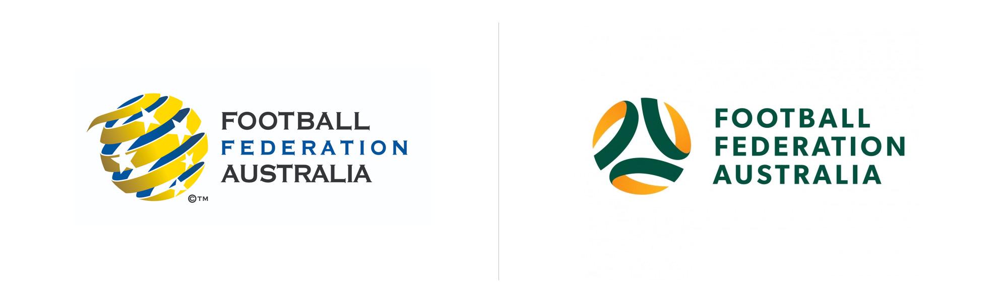 nowe logo futbolowej federacji australii