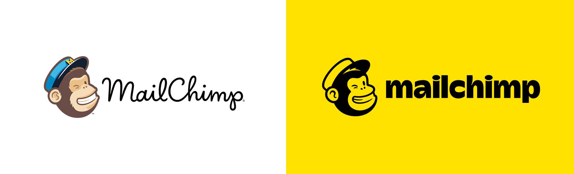 mailchimp nowe istare logo