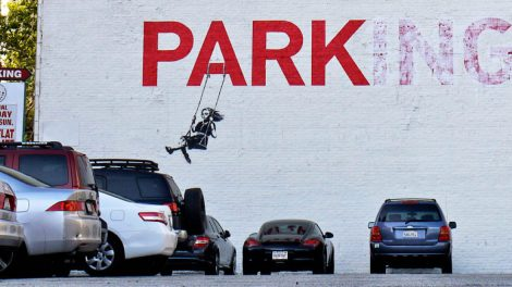 banksy legendarny bytyjski artysta najlepsze prace