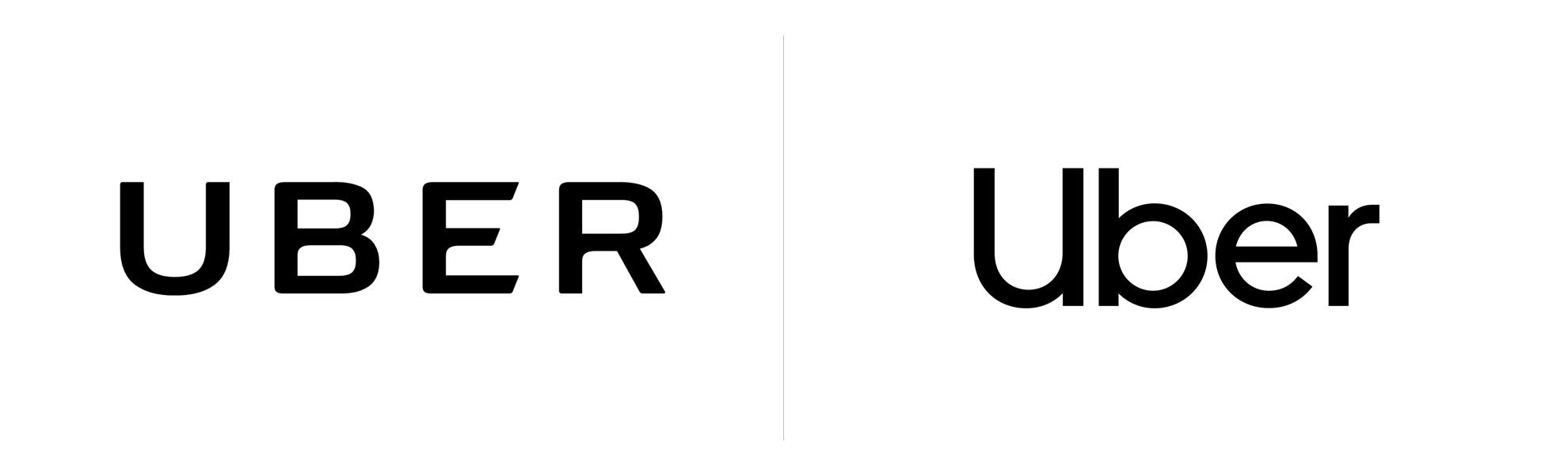 nowe istare logo ubera
