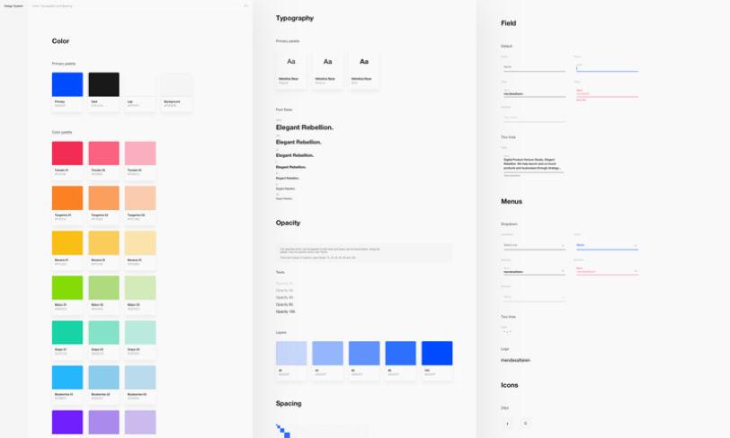 darmowy design system kit sketch