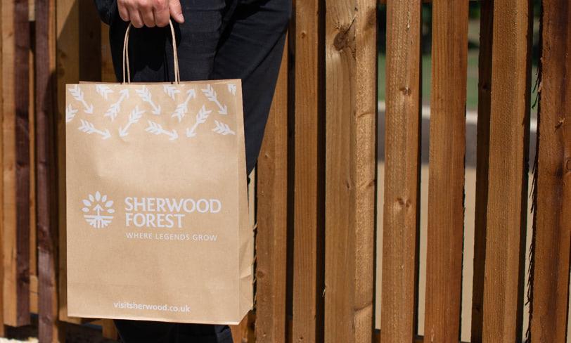 gadżety promocyjne las sherwood