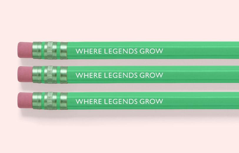 ołówki las sherwood