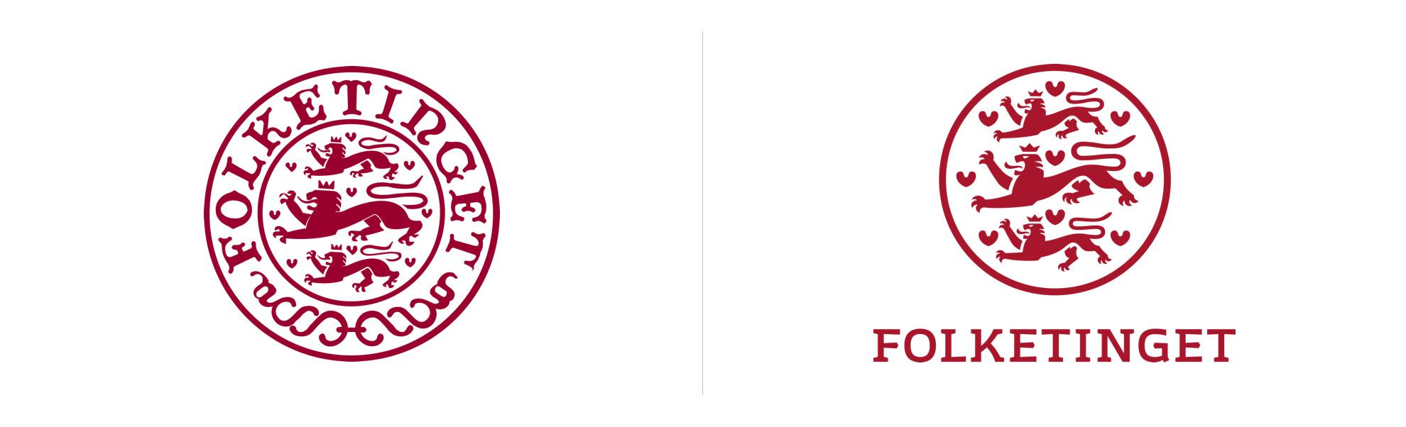Folketinget nowe istare logo