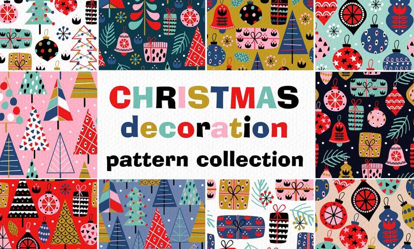 darmowe patterny świąteczne