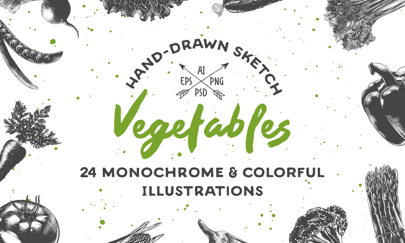 darmowe ilustracje warzyw
