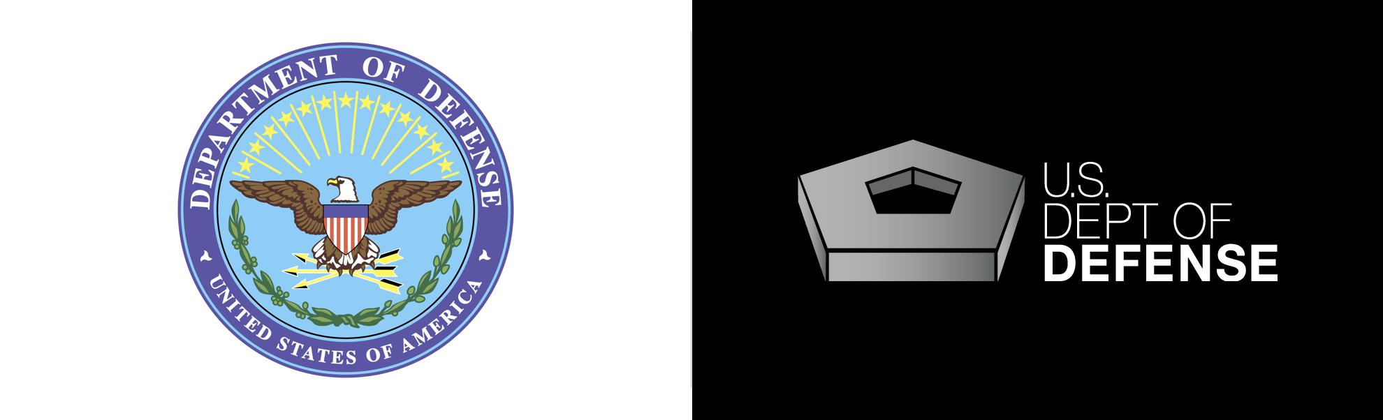 amerykański departament obrony zmienił logo