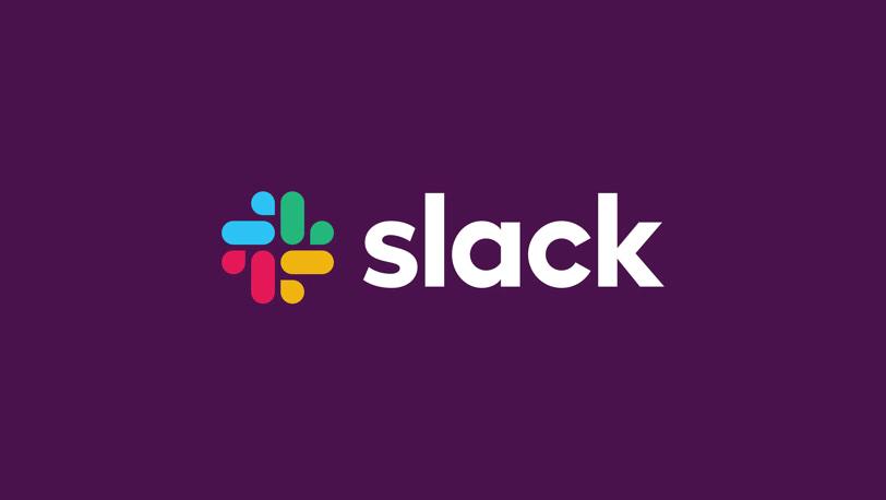 Slack nowe logo wkontrze