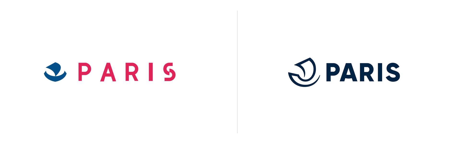Paryż zmienia logo