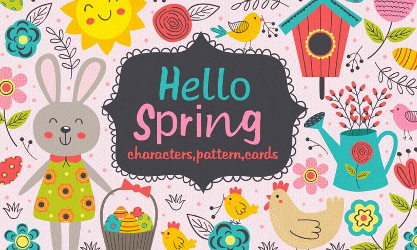 darmowe ilustracje wiosna