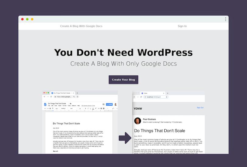nie potrzebujesz wordpressa, byzałożyć bloga