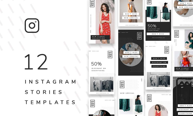 darmowy zestaw instagram stories