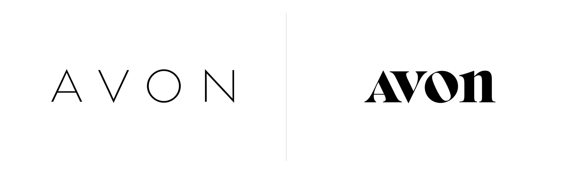 Avon zmienia logo wUSA