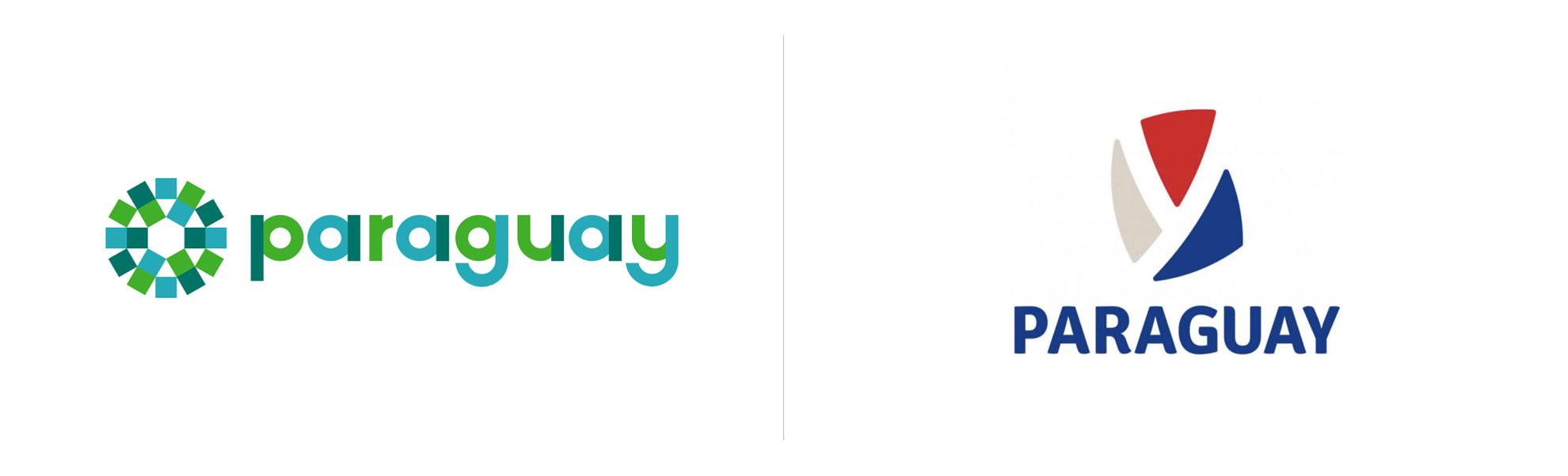 Paragwaj znów zmienia logo