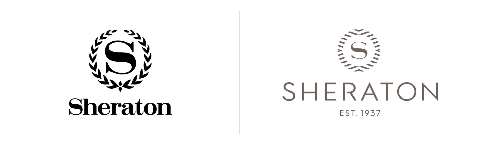 Sheraton zmienia logo