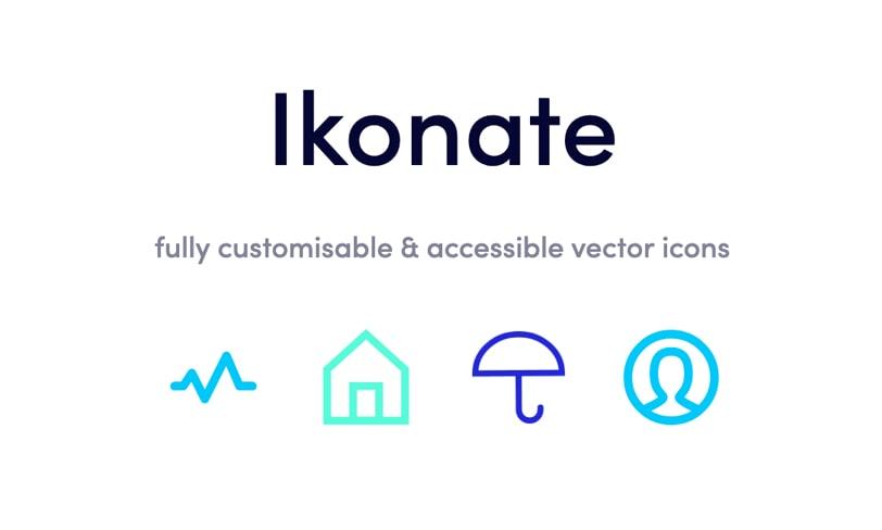 Ikonate – zestaw darmowych ikon