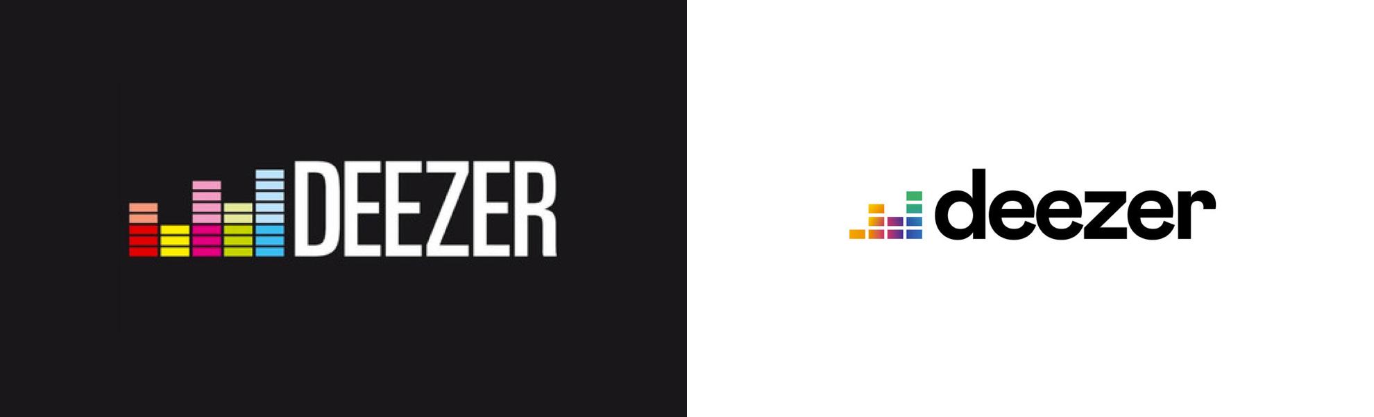 Deezer zmienia logo