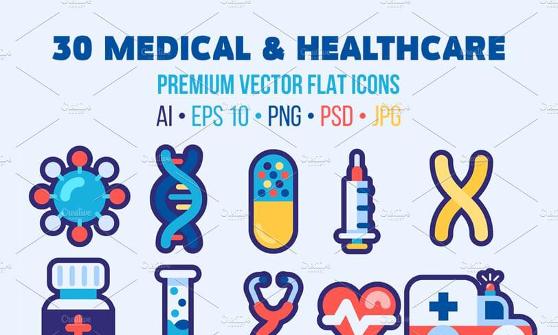 darmowe ikony medycyna iochrona zdrowia