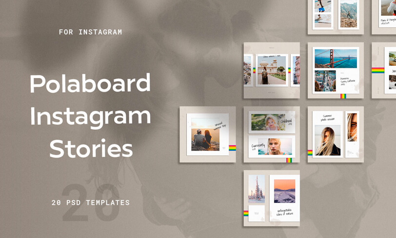 szablony instagram stories