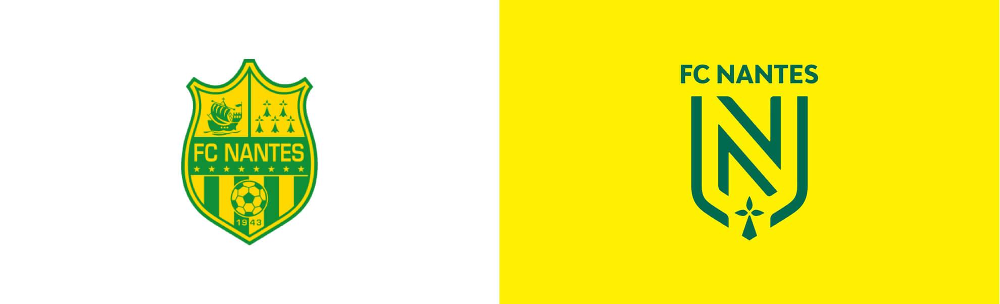 FC Nantes zmienia logo