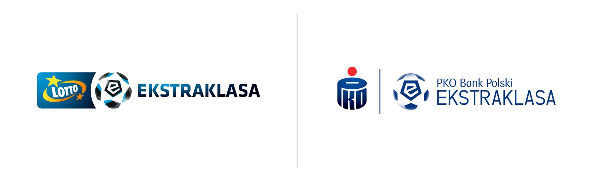 Logo Lotto ekstraklasy ilogo PKO Eksraklasy